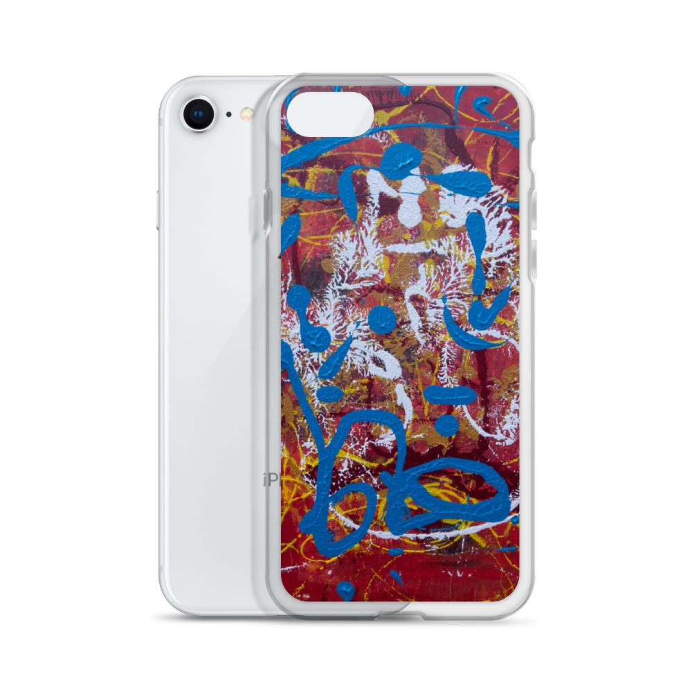 """Adventurous Extract from Torqued Morphism"" Liquid Glitter Phone Case"