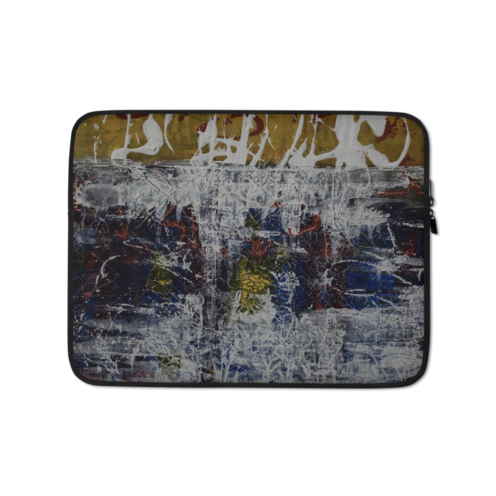 """Inverse Still Life of Unfolding Perception"" Laptop Sleeve"