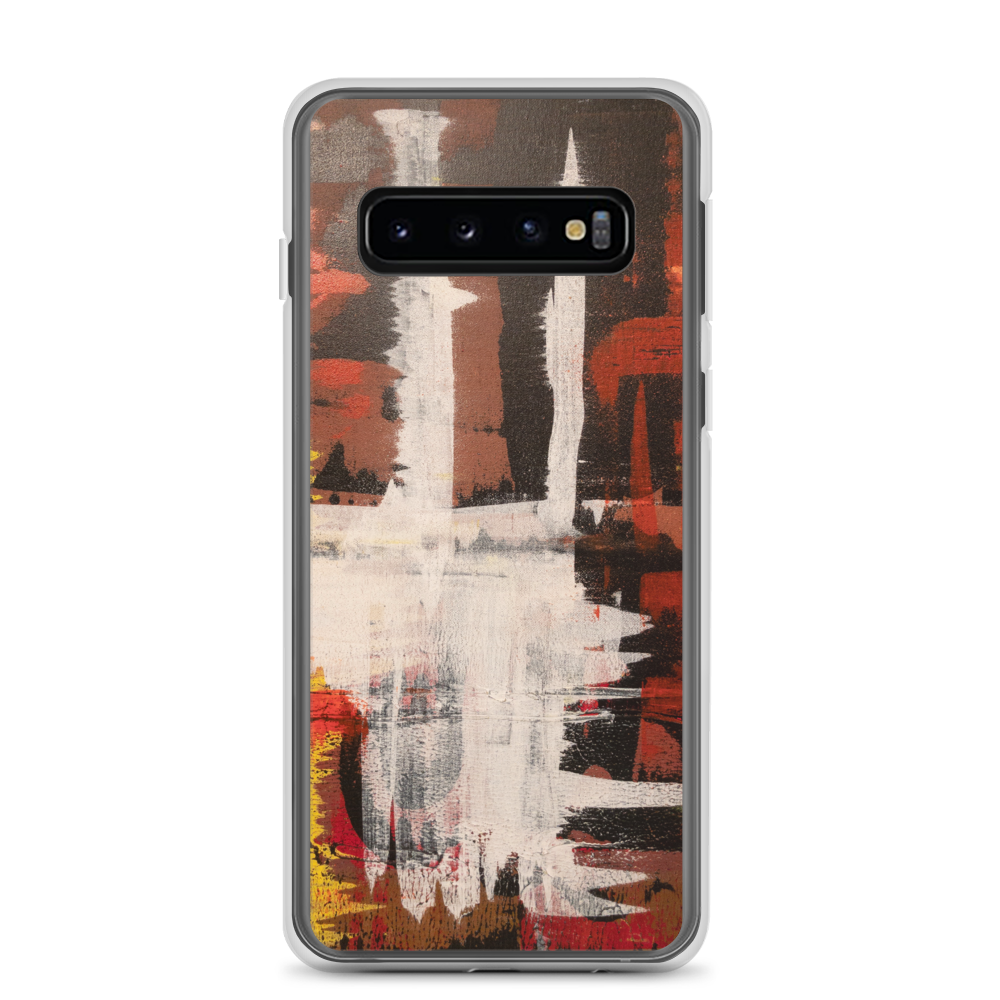 """Harlequin with a Glass Flattened by Gravity"" Samsung Case"