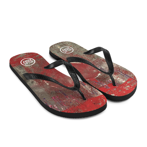 """Love is Messy"" Flip-Flops"