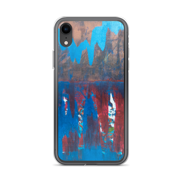 """Blue Maelstrom"" iPhone Case"