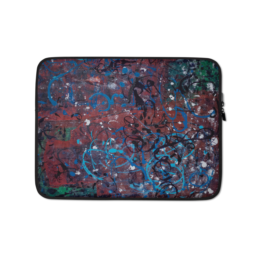 """Incoherent Dimensionality in Development"" Laptop Sleeve"
