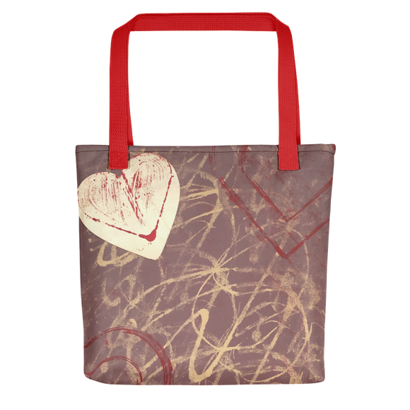 """Love is Unpredictable"" Tote Bag"