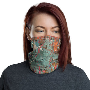 """Decomposed Chaos in Development"" Neck Gaiter Face Mask"
