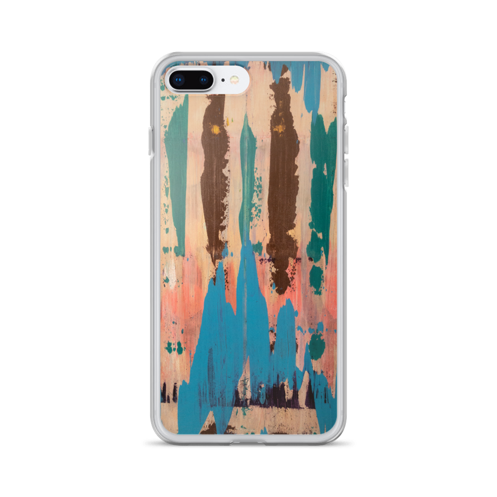 """Rainbow Eucalyptus"" iPhone Case"