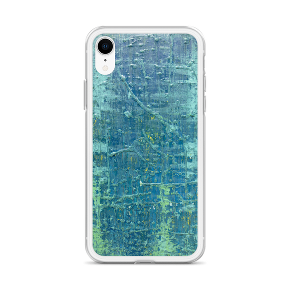 """Aerial View of an Emerald Seascape"" iPhone Case"