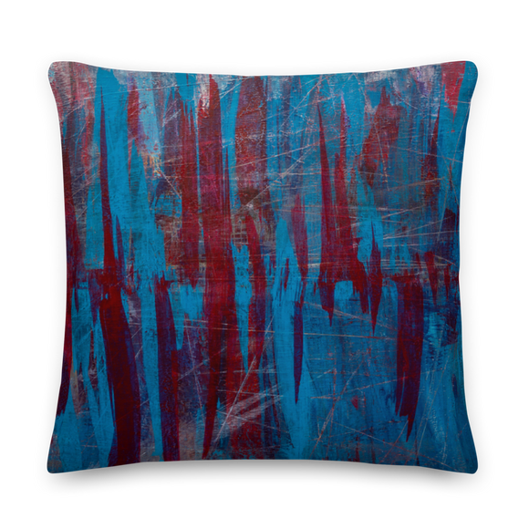 """Manifesto of Formless Exclusion"" Pillow"