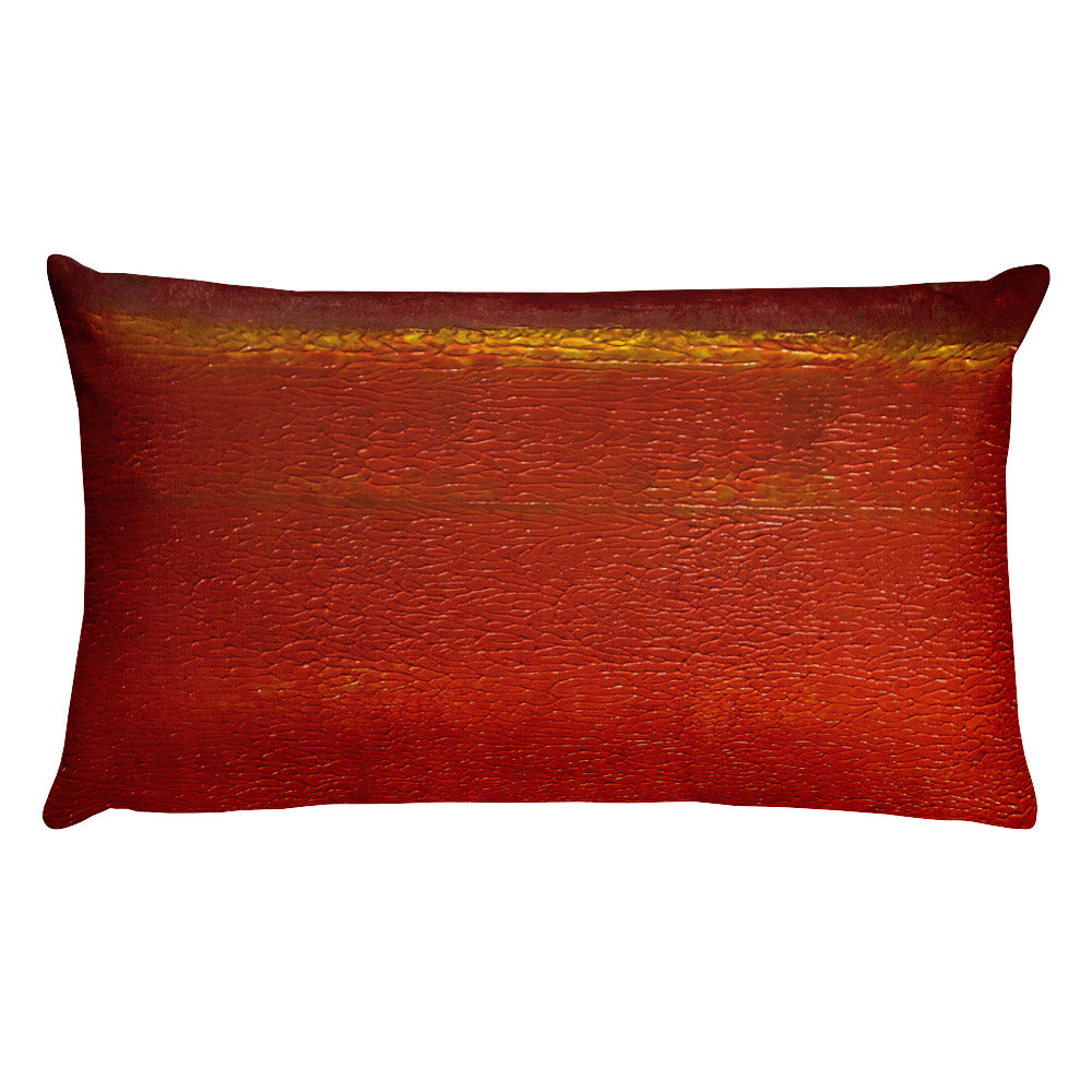 """Martian Sunrise"" Pillow"