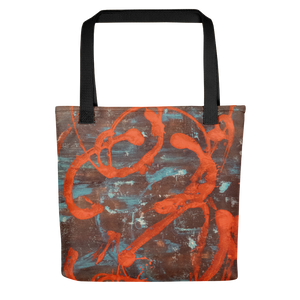 """""Superficial Impression of Curvaceous Motion"" Tote Bag"
