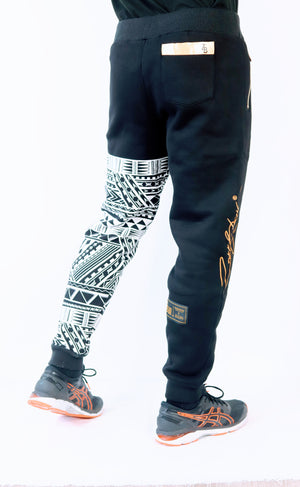 Premium Heavyweight BLACK Joggers