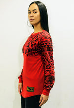 Premium Heavyweight Unisex RED Long Sleeve