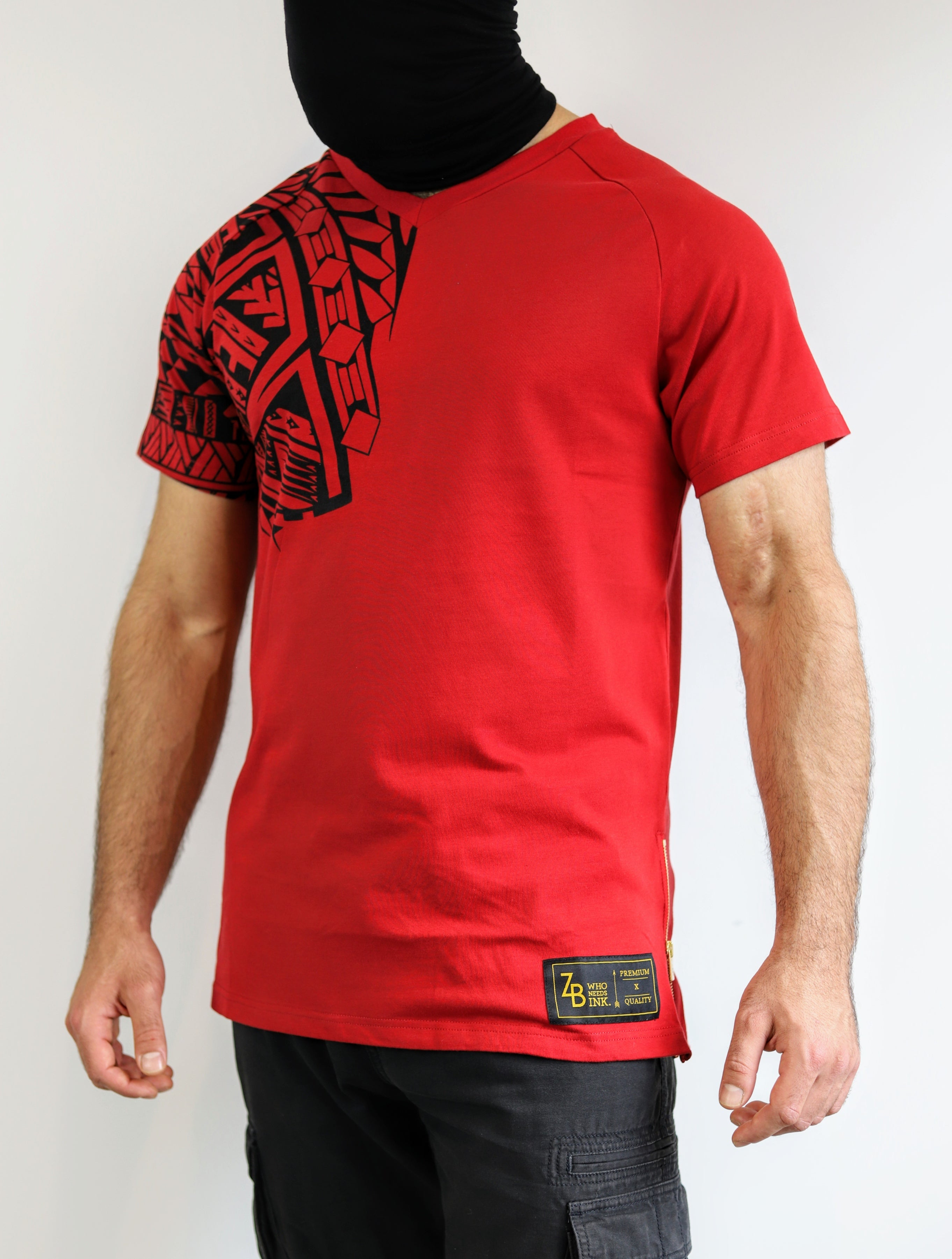 Premium Heavyweight RED T-Shirts