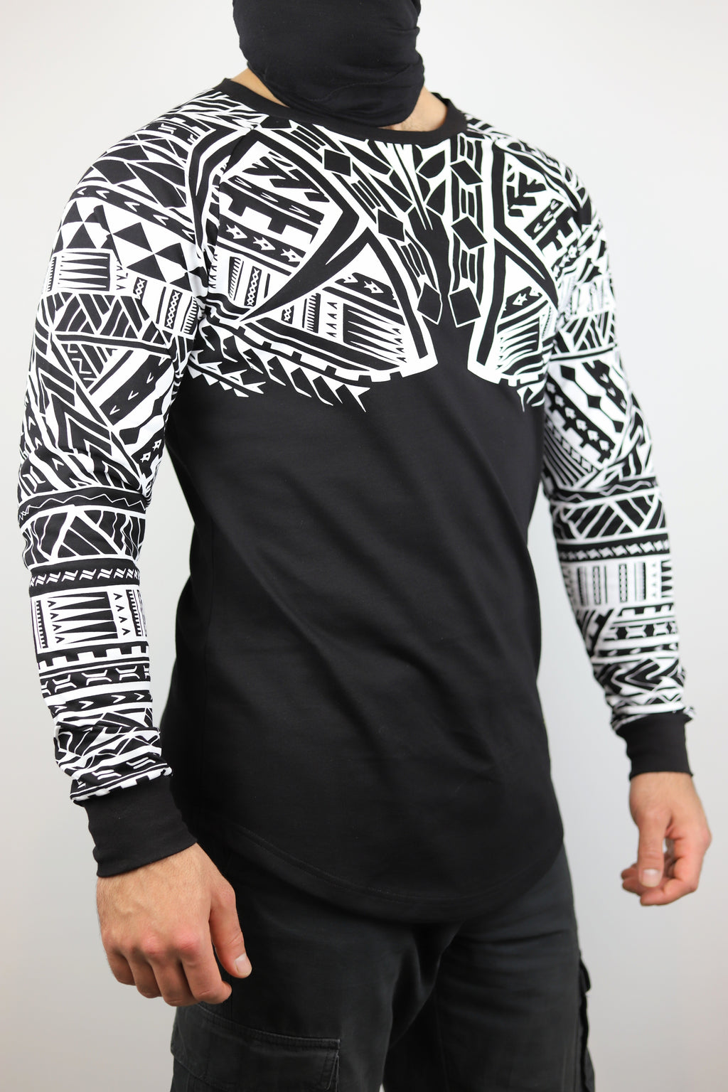 Premium Heavyweight Unisex BLACK Long Sleeve