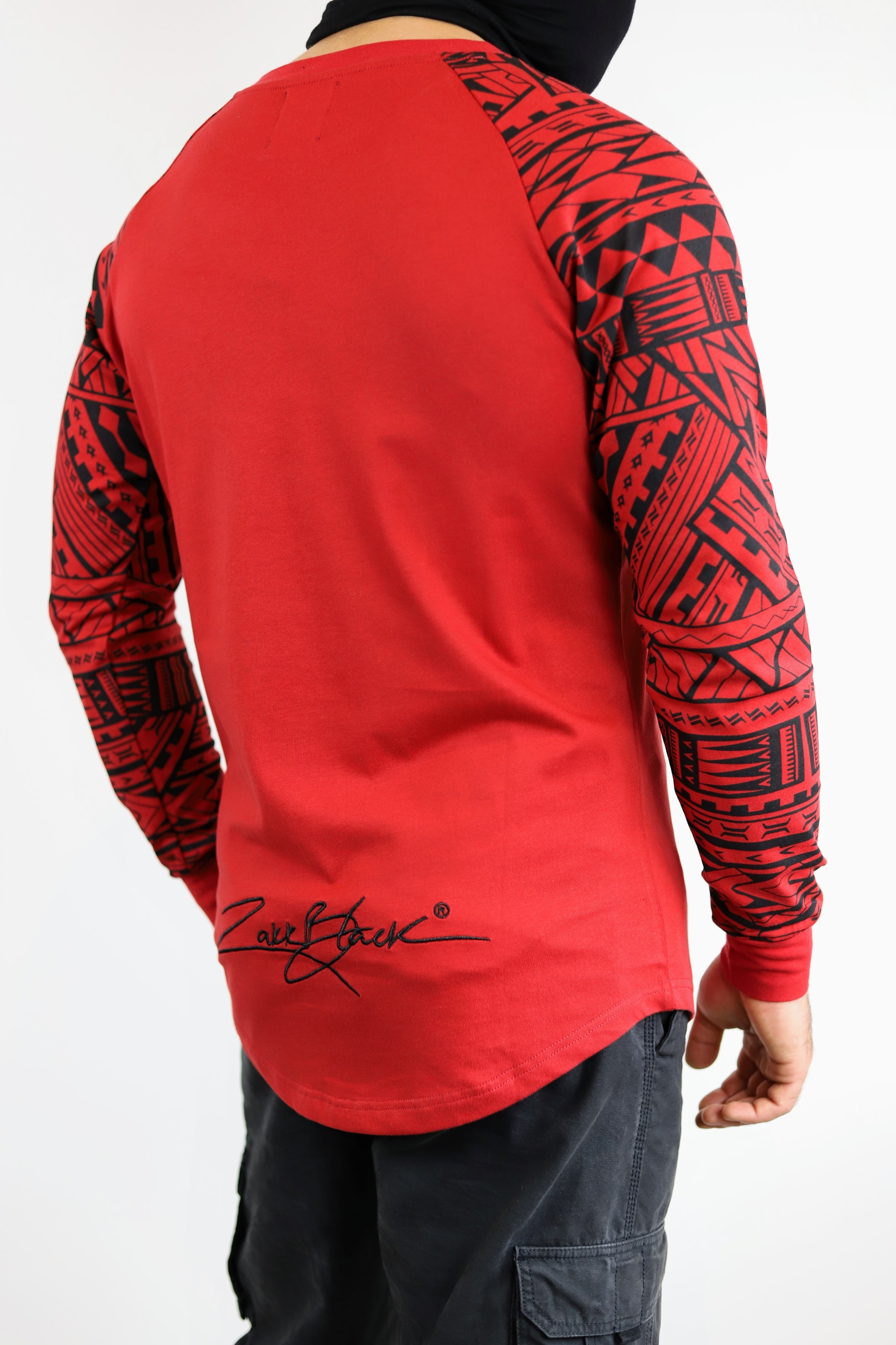 Heavyweight Premium Unisex RED Long Sleeve