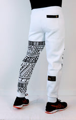 Premium Heavyweight WHITE Joggers