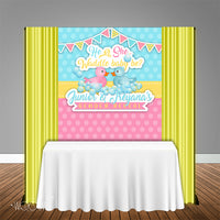Waddle Baby Be 5x6 Table Banner Backdrop, Design, Print and Ship!