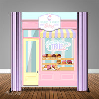 Sweet Bakery Shop 6x8 Banner Backdrop/ Step & Repeat Design, Print and Ship!