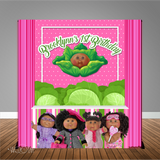 Cabbage Patch 6X6 Table Banner Backdrop with 6ft Table Wrap, Design, Print and Ship!
