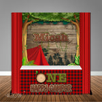 One Happy Camper 6X6 Table Banner Backdrop with 6ft Table Wrap, Design, Print & Ship!