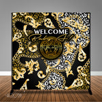 Versace Inspired 8x8 Backdrop, Design, Print and Ship!