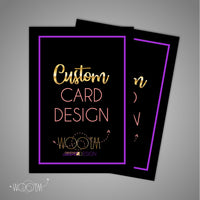 Add-on: Card Design