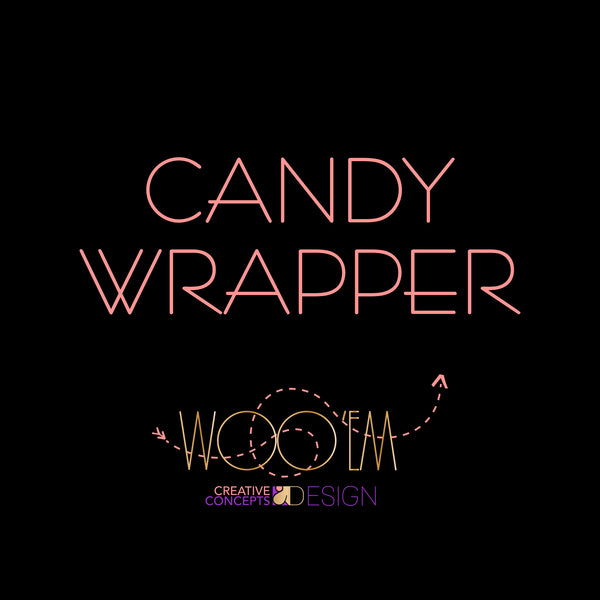 Add-on: Candy Wrapper Design Digital File
