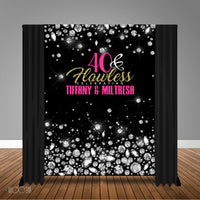 All Diamonds 6x8 Banner Backdrop/ Step & Repeat Design, Print and Ship!
