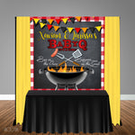 BaByQ Baby Shower Themed 6x6 Banner Backdrop/ Step & Repeat Design, Print and Ship!