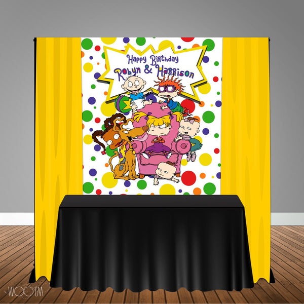 Rugrats 5x6 Table Banner Backdrop/ Step & Repeat, Design, Print and Ship!