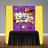 Rugrats Susie Carmichael Themed 5x6 Table Banner Backdrop/ Step & Repeat, Design, Print and Ship!