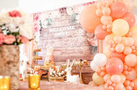 Rustic Winter 6x8 Banner Backdrop/ Step & Repeat Design, Print and Ship!
