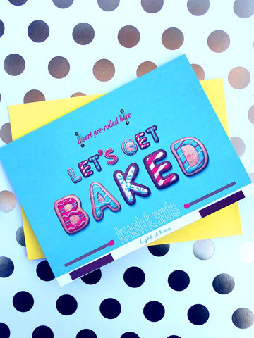 """Baked"" Greeting Card"