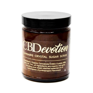 250mg CBD Brown Sugar Body Scrub