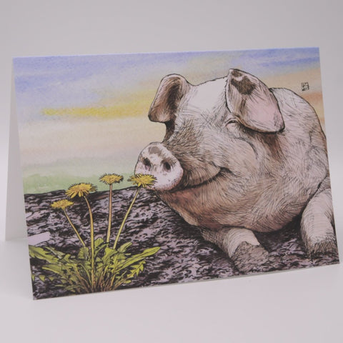 """Smells"" Greeting Greeting Card"