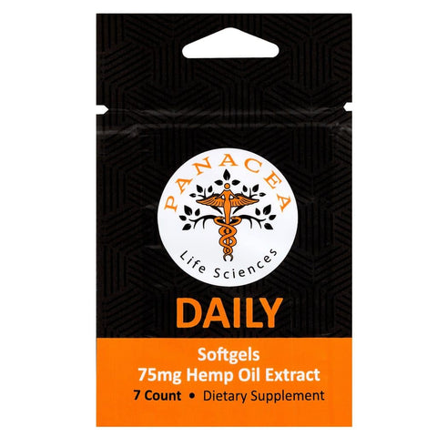 Daily 75mg Softgels - 7 Pack