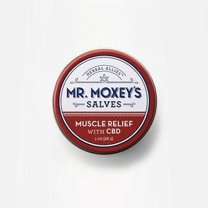 Mr Moxey's 150mg CBD Muscle Relief Salve