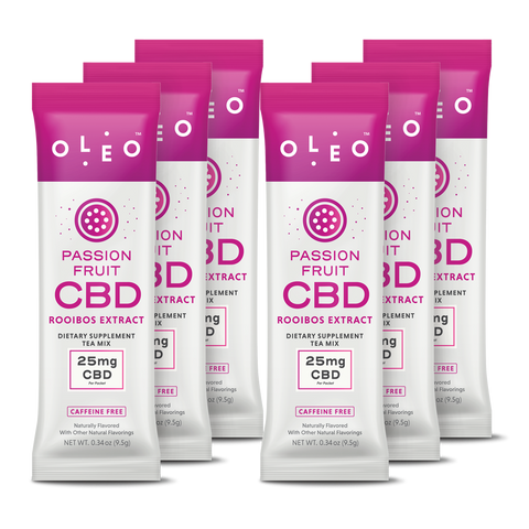 Passion Fruit OleoCBD On-The-Go Packet