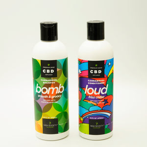 "Premium Hemp CBD Conditioner ""Loud"""