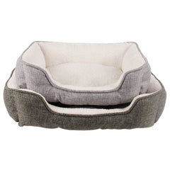 Chow Time Plush Indoor Dog Bed