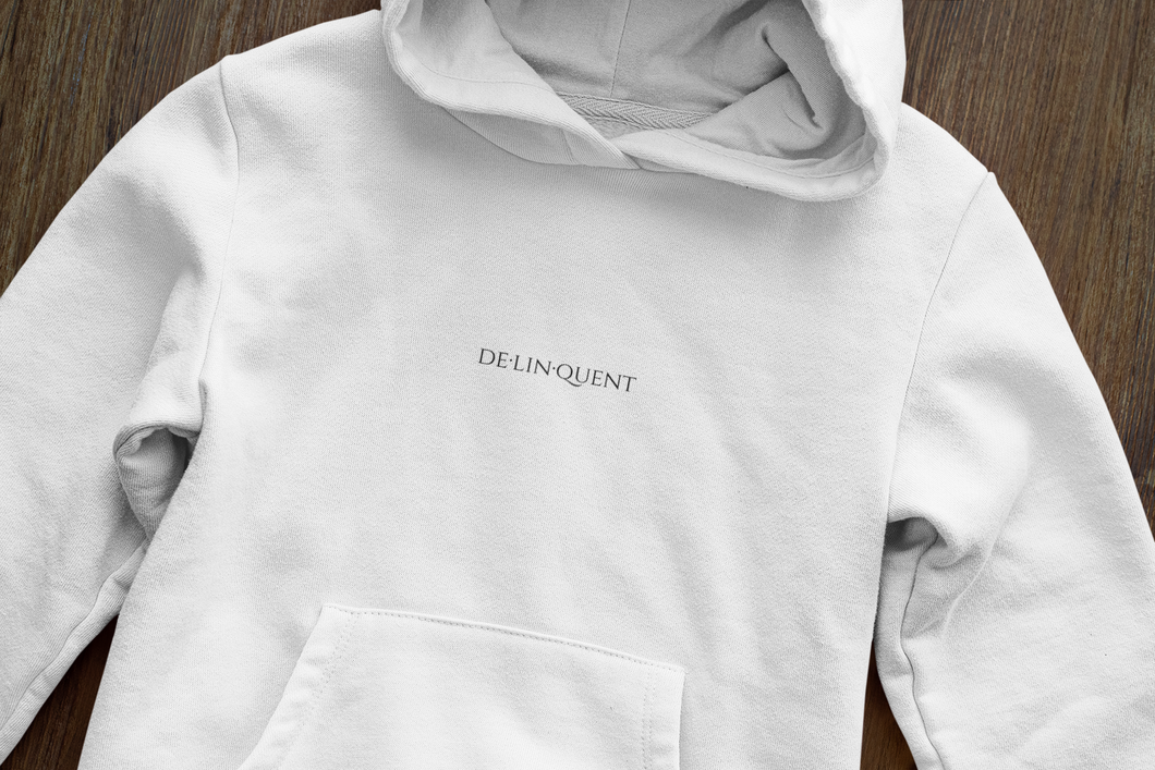 Delinquent | Heavy Weight Hoodie