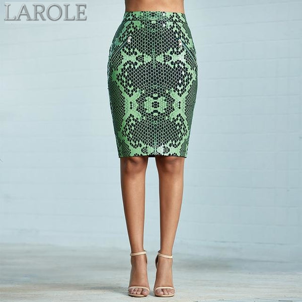 Knitted Pencil Bandage Skirt
