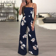 Load image into Gallery viewer, Women Summer Fashion Ladies Clubwear Floral Playsuit Bodycon Party Jumpsuit Trousers