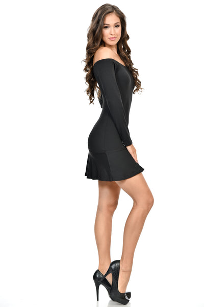 Long sleeve short LBD