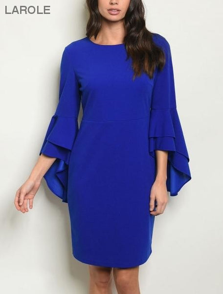 dazzling royal blue midi cocktail dress, Beautiful Blue Cocktail Dresses at the Best Prices | Larole