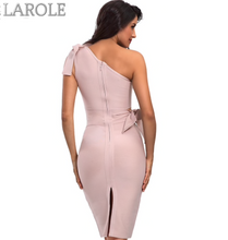 Load image into Gallery viewer, Apricot One Shoulder Tassel Celebrity Runway Party Dresses - More Colors Are Available