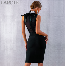 Load image into Gallery viewer, Luxury Diamond Celebrity Black Evening Party Dress