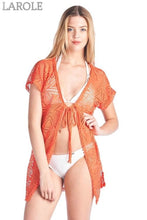 Load image into Gallery viewer, Shore Trendz Women's Open Front Swimwear Cover up