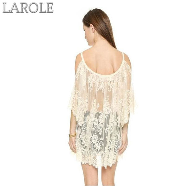 Beach Cover Up Lace Dress - More Colors Available