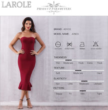 Load image into Gallery viewer, Sleeveless Strapless Midi Party Runway Apricot Dress - More Colors Option Available!