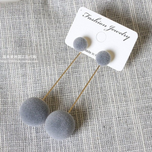 Geometric Stud Earrings  -  Available in more styles